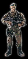 Elite Force - U.S. Army Special Forces Green Beret `Eagle`