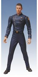 Battlestar Galactica Deck Uniform Helo 18cm Actionfigur