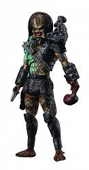 Predator: Battle Damaged Jungle Predator 1:18 Scale PVC Statue