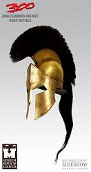 300 King Leonidas Helmet Scale 1:1 Prop Replica