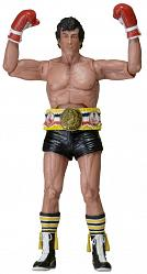 Rocky Actionfiguren 18 cm Serie 1 40th Anniversary Black Trunks