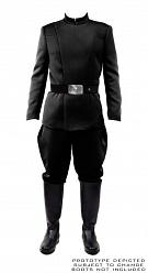 Star Wars : Men's Imperial Officer - Black Uniform Package Size