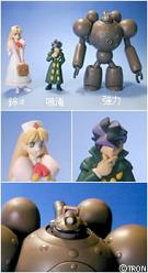 Steam Detectives 10cm PVC-Figuren 3er Set (BOX)