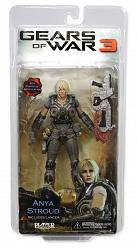 Gears of War 3 Anya Stroud Actionfigur