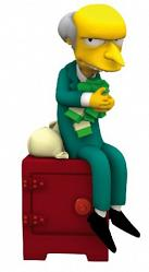 Simpsons - Mr. Burns 30cm Bobble Bank