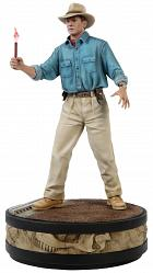 Jurassic Park: Alan Grant with Flare 1:4 Scale Statue