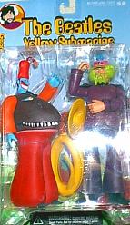 The Beatles Yellow Submarine Series 2 George w/ Snapping Turk 8""