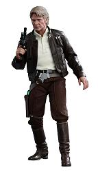 Star Wars Episode VII Movie Masterpiece Actionfigur 1/6 Han Solo