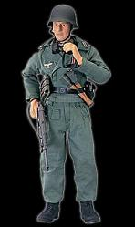 Elite Force WWII - 21st Panzer Division F. Haas 30cm Figur