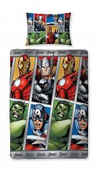 Marvel Avengers Bettwäsche Reversible Team 135 x 200 cm