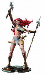 Frank Thorne: Red Sonja 45th Anniversary 12 inch Statue
