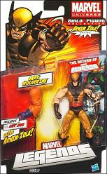 Marvel Legends Action Figures 2012 Wave 2 Dark Wolverine