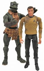 Star Trek - TOS Kirk VS Gorn AF 2-Pack