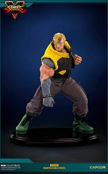 Street Fighter V: Regular Nash 1:4 Statue