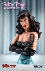 Queen of Pinups: Bettie Page 3:4 Scale Bust
