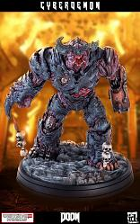DOOM: Cyberdemon 1:4 Scale Statue