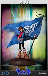 Skies of Arcadia: Vyse statue