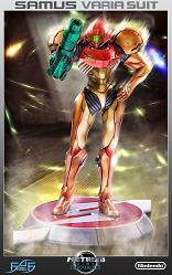 Metroid Prime Echoes: Samus Varia suit 1/4 scale regular edition