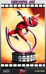 Viewtiful Joe Regular Statue