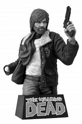 The Walking Dead: Rick Grimes B&W Bust Bank