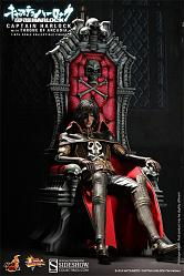 "CAPTAIN HARLOCK 12"" CAP HARLOCK W THRONE"