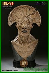 1:1 Angel of Death Bust Hellboy 2 Sideshow