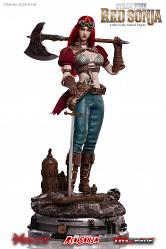 Red Sonja: Deluxe Steampunk Red Sonja 1:6 Scale Action Figure