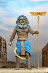Iron Maiden: Pharaoh Eddie - 8 inch clothed Action Figure