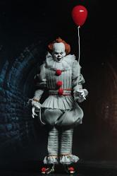 IT: Pennywise - 8 inch Scale Clothed Action Figure