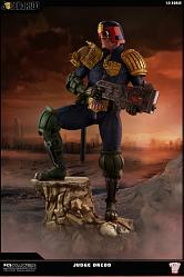 2000AD Judge Dredd: Exclusive Cursed Earth Judge Dredd 1:3 Scale