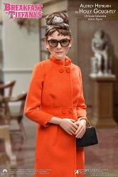 Breakfast at Tiffanys: Audrey Hepburn - Orange Dress 1:6 Scale F