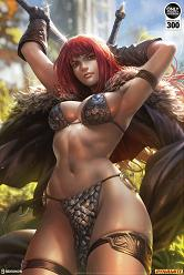 Red Sonja Unframed Art Print