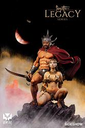 Frazetta Legacy Series: The Swordsman of Mars 1:4 Scale Statue