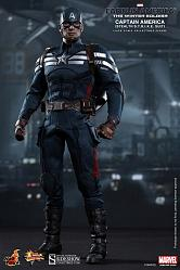 Captain America: Stealth S.T.R.I.K.E. Suit Sixth Scale Figure