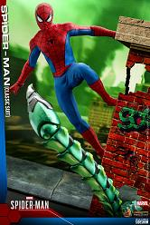 Marvel: Classic Suit Spider-Man 1:6 Scale Figure