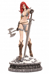 Women Dynamite: Red Sonja Statue Artist Proof