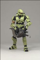 Spartan Soldier Rogue (Olive) Halo 3 Action Figure Series 3 Mult