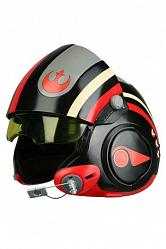 Star Wars Episode VII Replik 1/1 Poe Dameron Black Squadron Helm