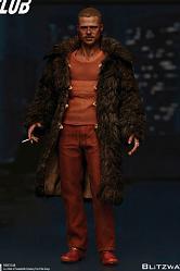 Fight Club Actionfigur 1/6 Tyler Durden (Brad Pitt) Fur Coat Ver
