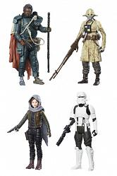 Star Wars Rogue One Action Figure 4-Pack 2017 Jedha Revolt 10 cm