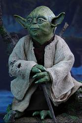 Star Wars Episode V Movie Masterpiece Actionfigur 1/6 Yoda 13 cm