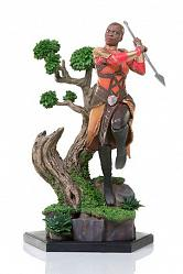 Black Panther Battle Diorama Series Statue 1/10 Okoye 23 cm