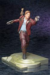 Guardians of the Galaxy ARTFX Statue 1/6 Star Lord with Groot 32