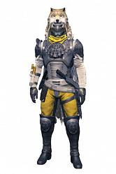 Destiny Color Tops Actionfigur Hunter (Blacksmith Shader) 18 cm