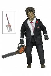 Texas Chainsaw Massacre 2 Retro Actionfigur 30th Anniversary Lea