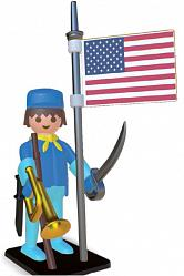 Playmobil Nostalgie Collection Statue Amerikanischer Reiter 25 c