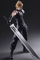 Final Fantasy VII Remake Play Arts Kai Actionfigur No. 1 Cloud S