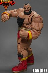 Street Fighter V Actionfigur 1/12 Zangief 21 cm