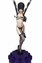 Elvira Mistress of the Dark Maquette Elvira Vegas or Bust 42 cm