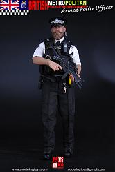 British Metropolitan Police Service - Armed Officer